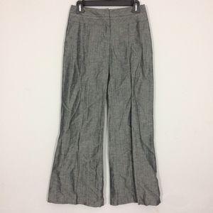 Candies Juniors 3 Gray Pinstripe Flare Dress Pants